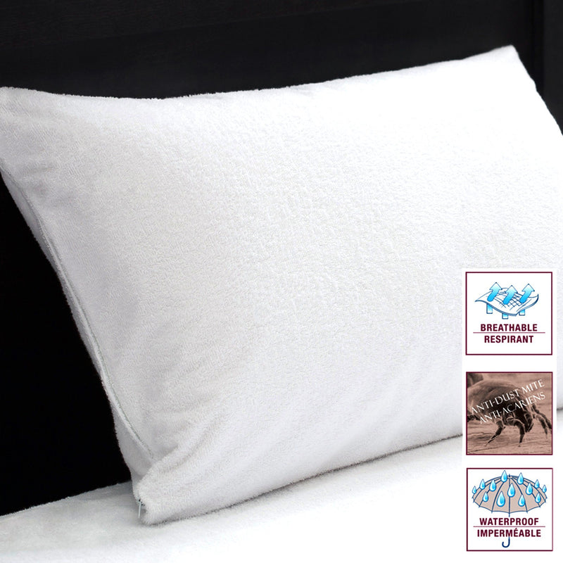 Studio 707 - Terry Waterproof Pillow Protectors - Magasins Hart | Hart Stores
