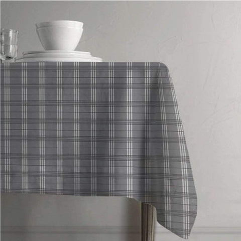 Tablecloth Plaid Clyde Collection 60x84 Inches