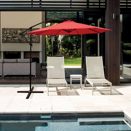 10'(3m) Large Hanging Patio Umbrella - Magasins Hart | Hart Stores