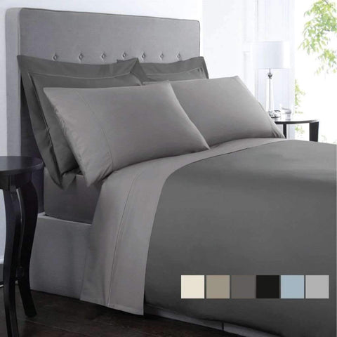 T1200cvc Sheet Set Queen Ivory