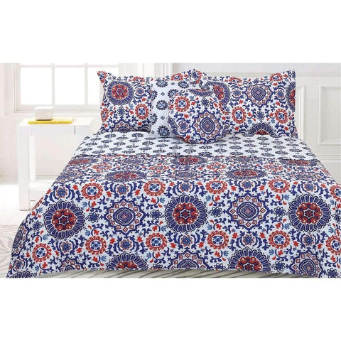 Saltilo 5pcs Ensemble de Courtepointe - Double/Queen | Saltilo 5pcs Quilt Set - Full/Queen