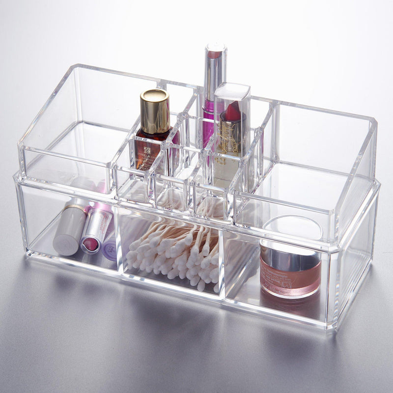 Studio 707 - Rectangular Clear Organizer with Drawers - Magasins Hart | Hart Stores