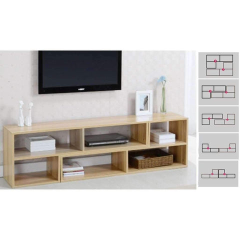 Studio 707 - Television Unit, Oak