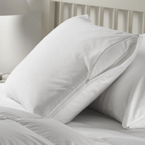 W Home - Pack of 2 Cotton Pillow Protectors