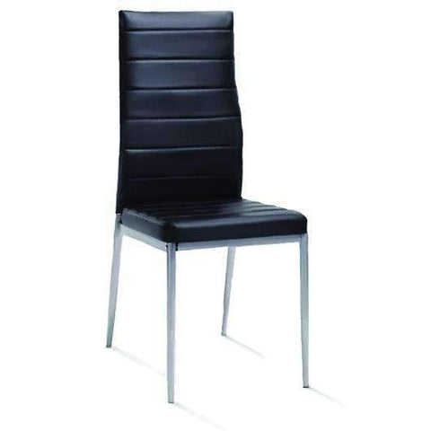 Dining Chair With Black Metal Frame 41x495x975cm