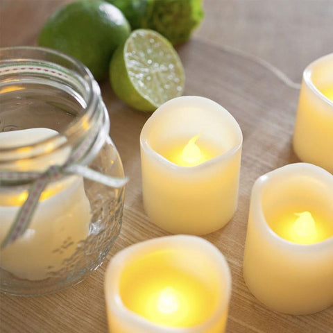 Ensemble de 6 bougies DEL | 6 piece candle set