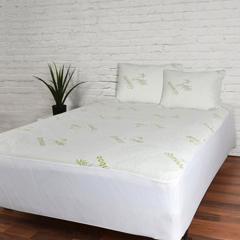 Maison Blanche - Bamboo-Blend Waterproof Mattress Protector