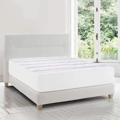 W Home - Soft Touch Matelasse Mattress Pad, Twin