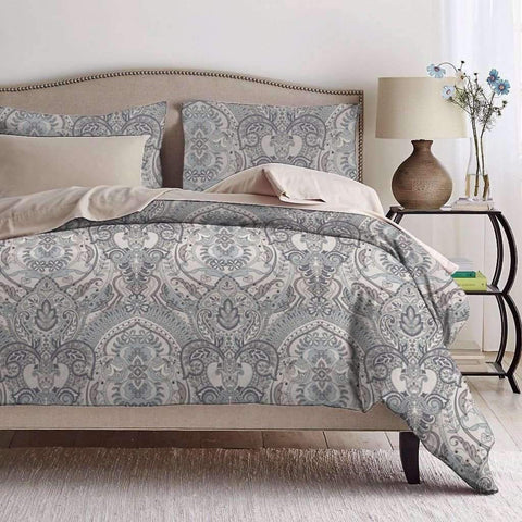 Lauren Taylor - Enya 3 Piece Duvet Cover Set, Full