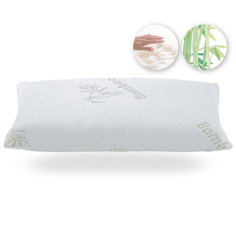Memory Foam Pillow with Bamboo Cover