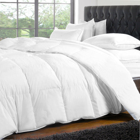 Cotton Duvet with Microgel, White Duck Down and Feathers