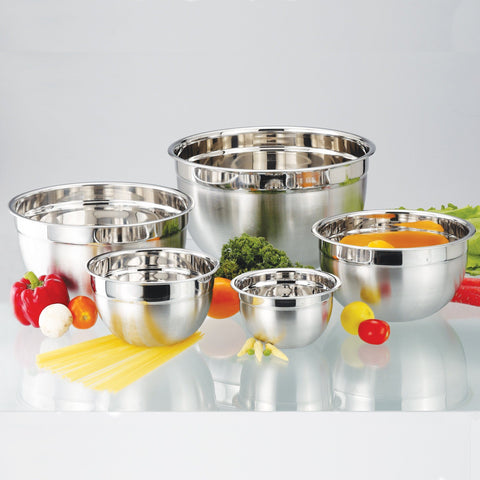 À la Cuisine - Stainless Steel Mixing Bowl Set