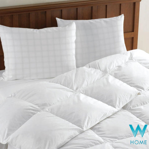 W Home - Deluxe White Wool Fill Duvet