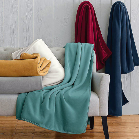 Assorted Micro-Fleece Throws