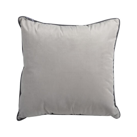 Coussin en Velour - Gris | Velvet Cushion - Grey