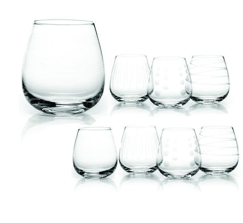Ensemble de 8 verres à Whisky | Whisky Glass Set Of 8