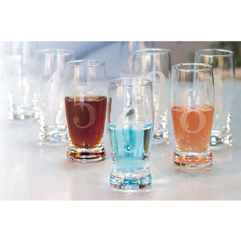 Sandra Venditti - Numbered Shot Glasses, Set of 8