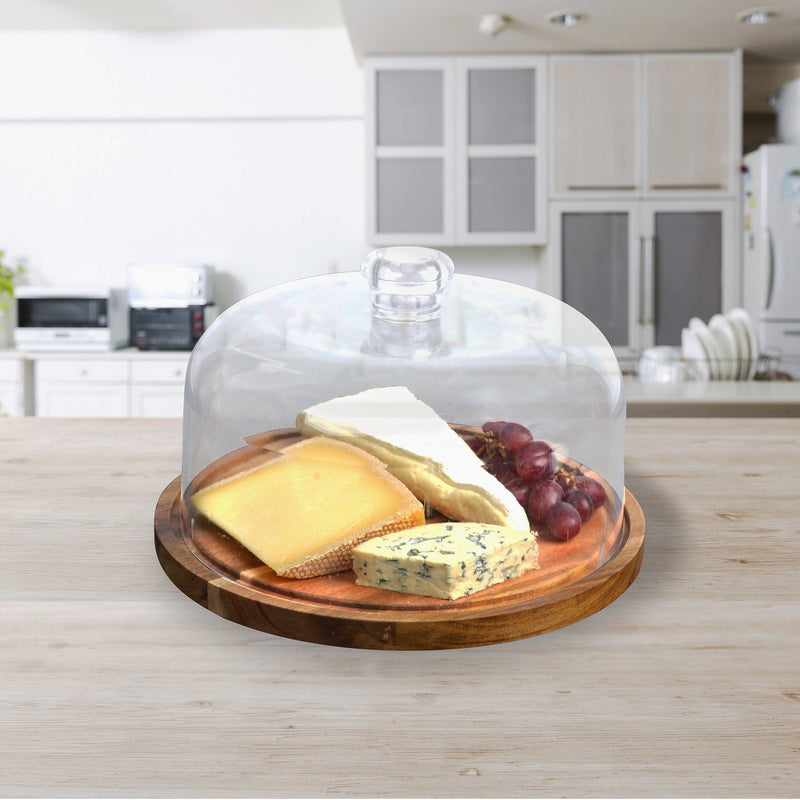 À la Cuisine - Acacia Wood Cheese Board and Dome - Magasins Hart | Hart Stores