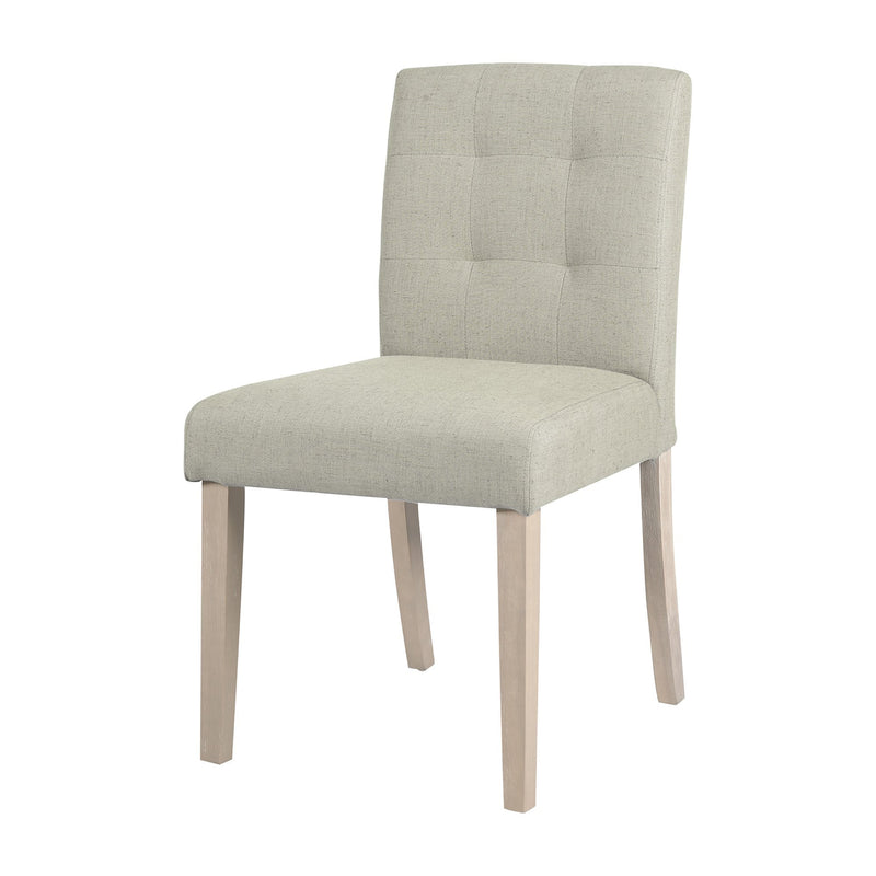 FLORIANE - UPHOLSTERED DINING CHAIR - IVORY - Magasins Hart | Hart Stores