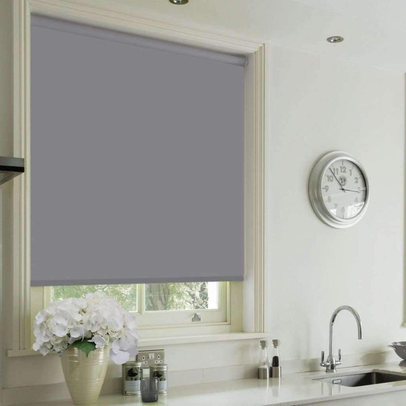 Cordless Blackout Roller Blind - Grey - Magasins Hart | Hart Stores