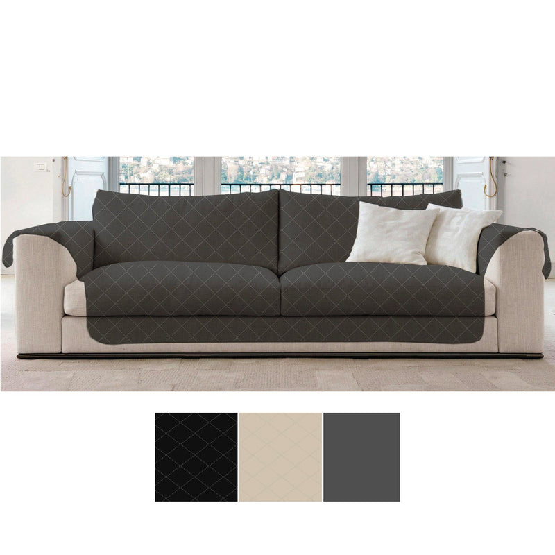 Sofa Slipcover with Diagonal Stitch Design - Magasins Hart | Hart Stores