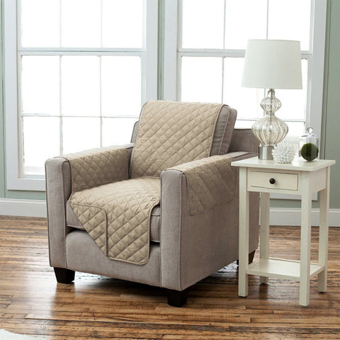 Lauren Taylor - Diamond Quilted Chair Slipcover