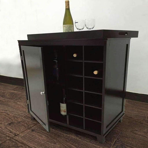 Sandra Venditti - 12 Compartment Wine Cabinet