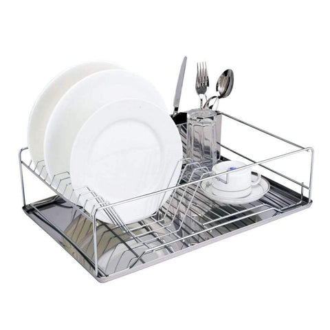 Sandra Venditti - Support à vaisselle chromé | Sandra Venditti - Chrome Dish Rack
