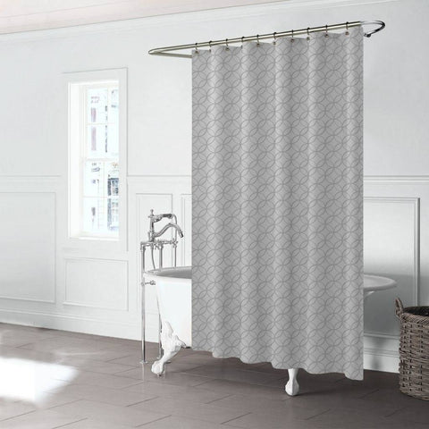 Rideau de douche Bloom - Gris | Bloom Shower Curtain - Grey