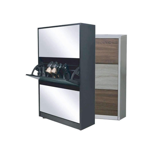 Shoe Cabinet 3 Layer Multi 25x8x43in