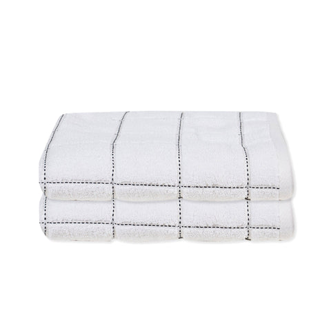 Lauren Taylor - Midnight Check Bath Towels