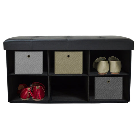 Lauren Taylor - Foldable Storage Ottoman
