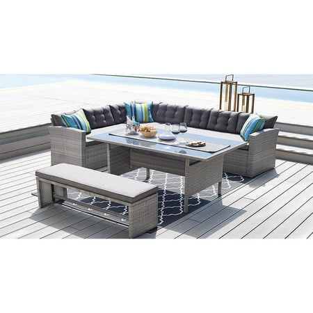 4 Piece Outdoor Dining Set - Magasins Hart | Hart Stores