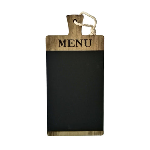 À la Cuisine - Wooden Menu Board