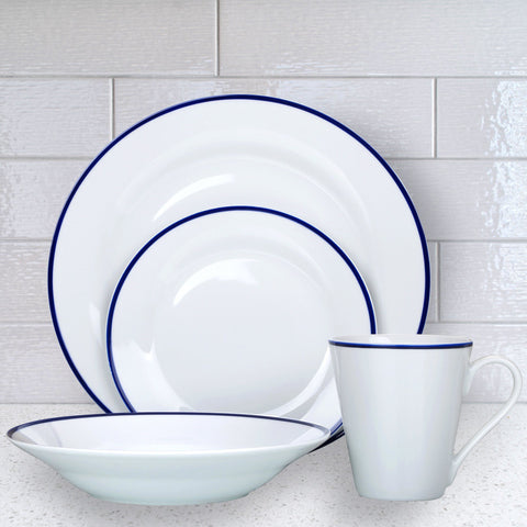 Lauren Taylor - Twist 16 Piece Dinnerware Set