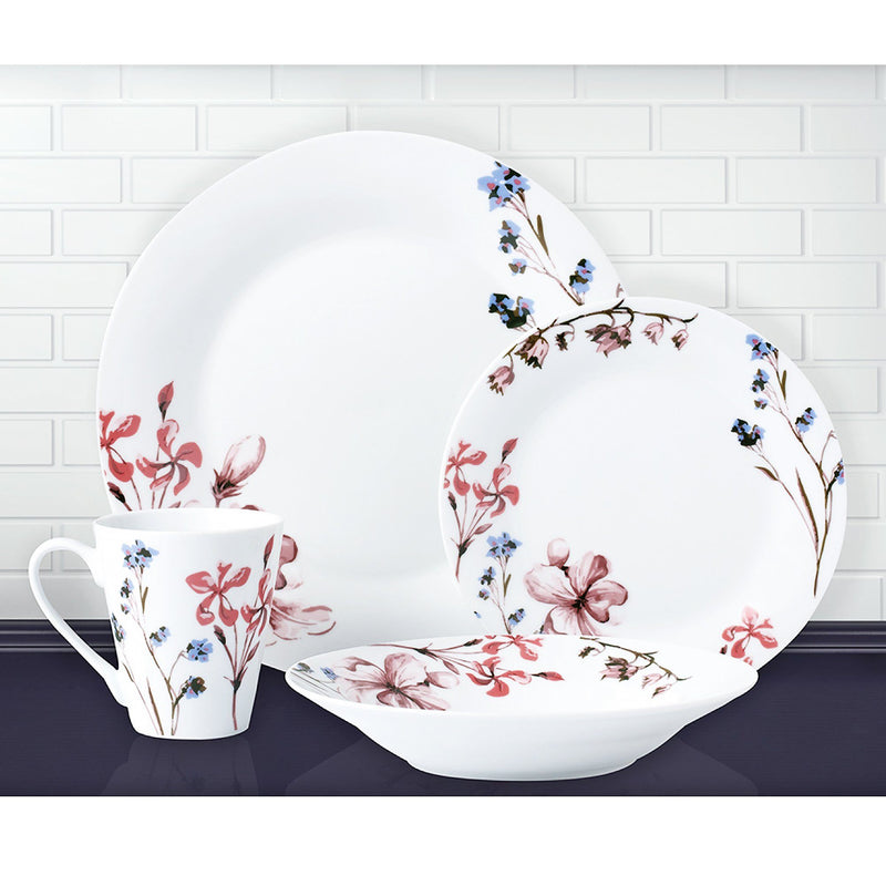 WILDFLOWER -16 piece Dinnerware Set - Magasins Hart | Hart Stores