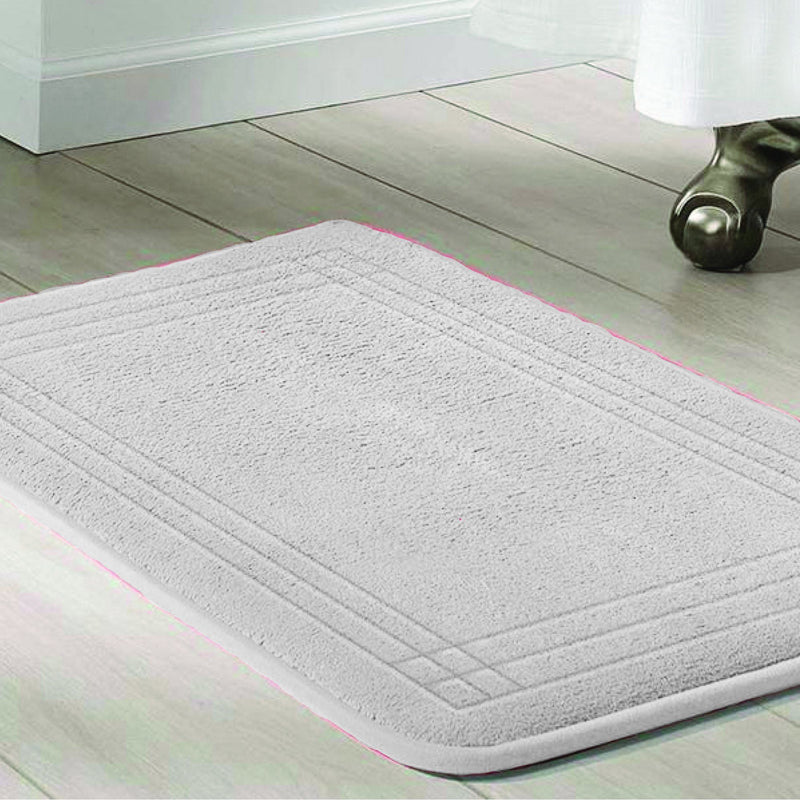 Memory Foam Bath Mat with Anti-slip Backing 20x30'' - Magasins Hart | Hart Stores