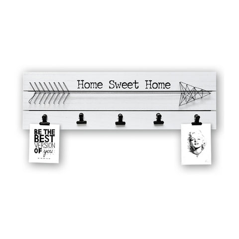 "Wall Decor Photo & Art Clips ""Home Sweet Home"""