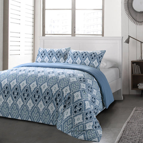 Lauren Taylor - Tula 3 Piece Luxury Duvet Cover Set