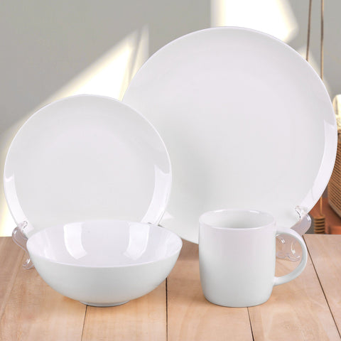 Lauren Taylor - Pure 16 Piece Dinnerware Set