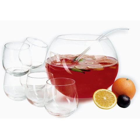 Barcelona Punch Bowl Set