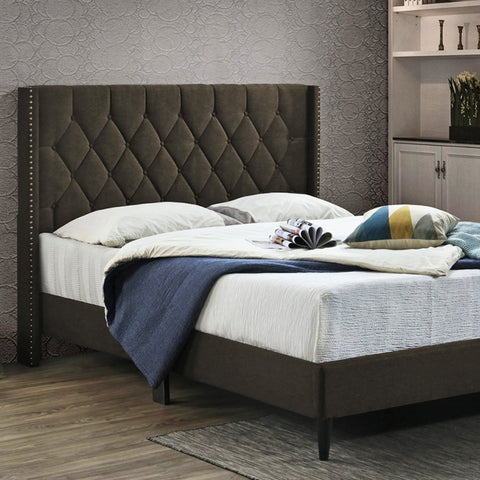 MAISON BLANCE - Upholstered Infinity Bed
