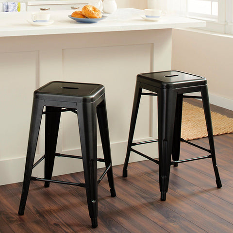 Sandra Venditti - Metal Stackable Barstool