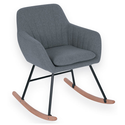 Sandra Venditti - Maniar Fabric Rocking Chair