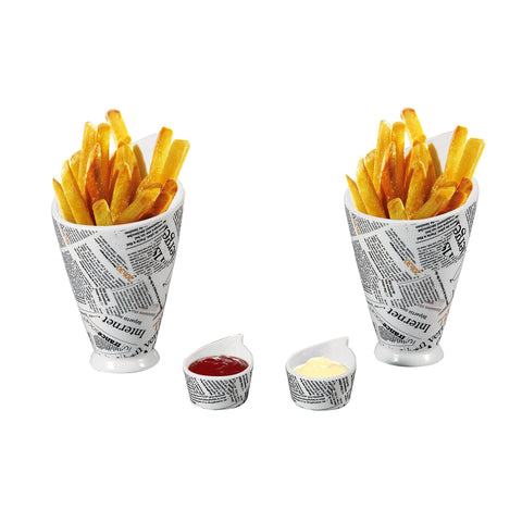 À la Cuisine - Set of 4 Snack Dishes