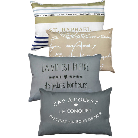LAUREN TAYLOR - Tour of France Decorative Pillows