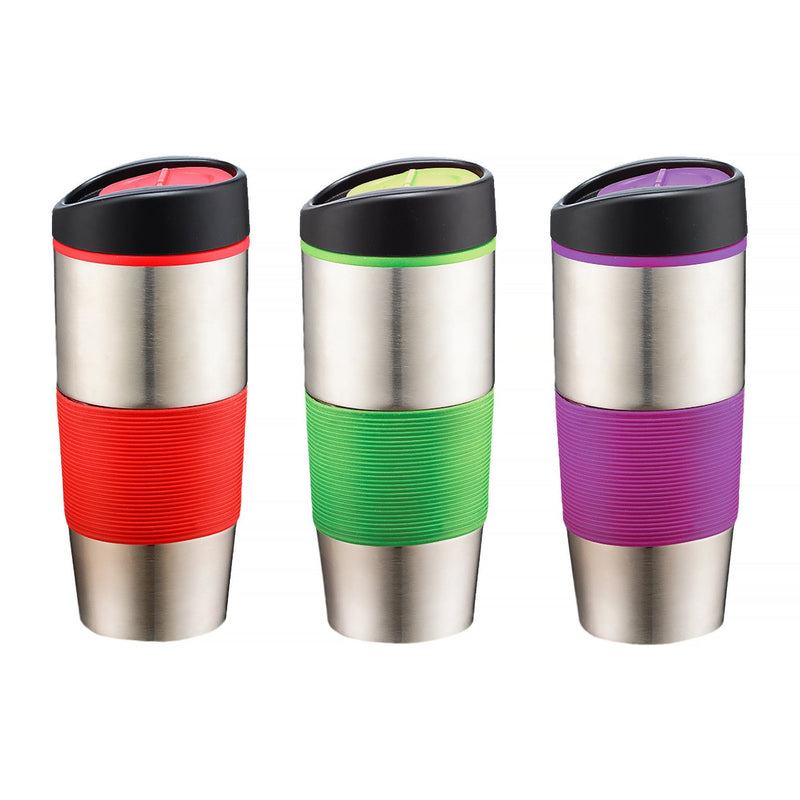 Travel Mug with Assorted Colour Grips - Magasins Hart | Hart Stores