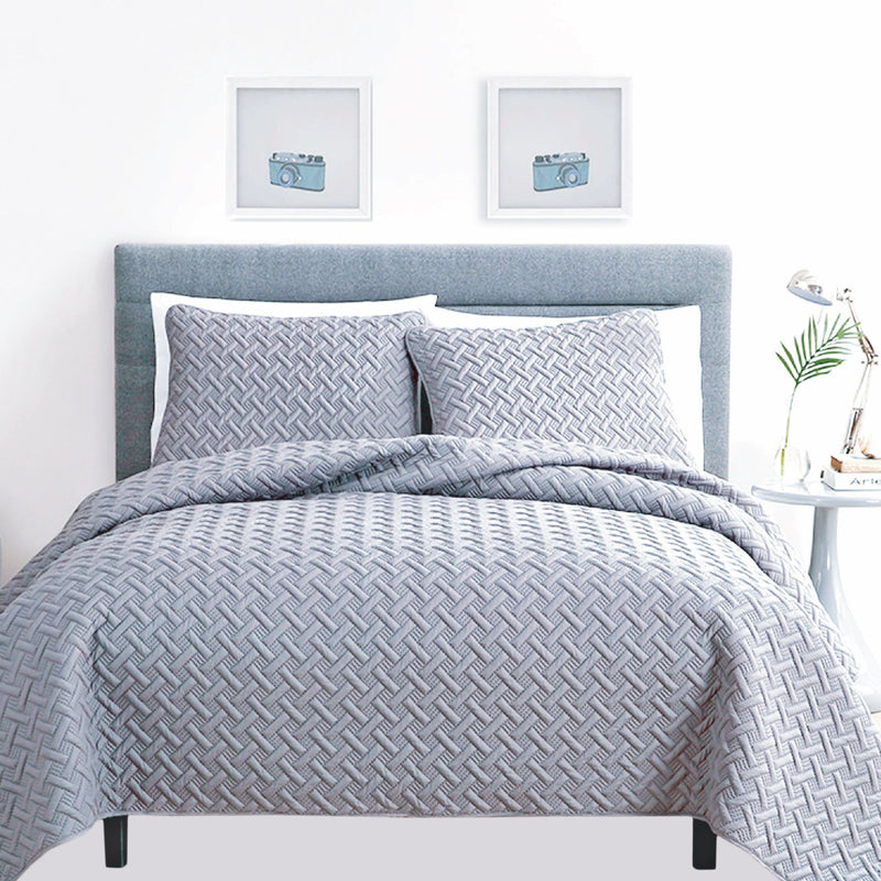 Urban Home - 3 Piece Quilt Set - Magasins Hart | Hart Stores