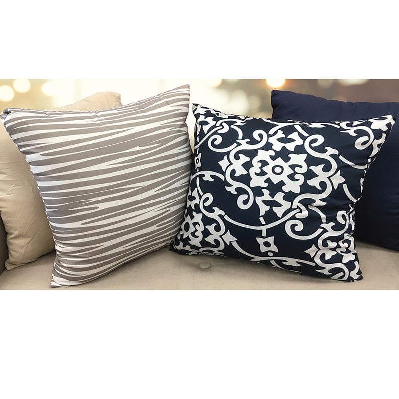 Melbourne Decorative Cushion 16x16 - Assorted Prints - Magasins Hart | Hart Stores