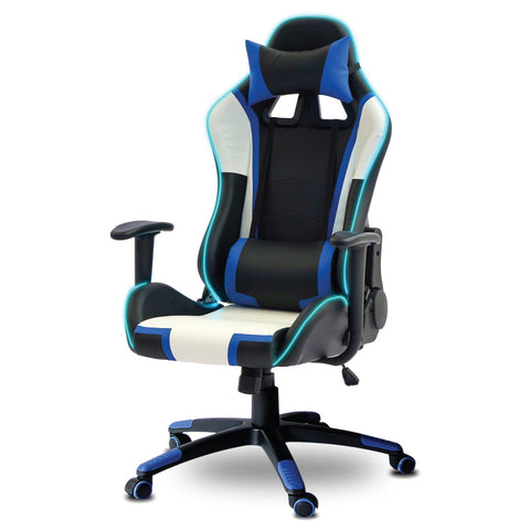 SANDRA VENDTTI - Gaming Chair with Headrest and LED light